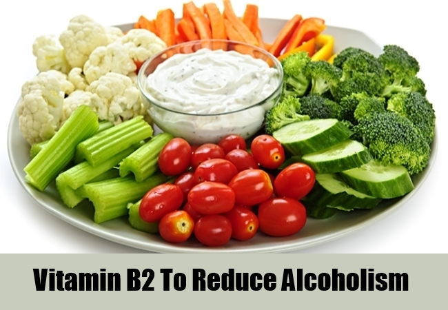 Vitamin B2 To Reduce Alcoholism