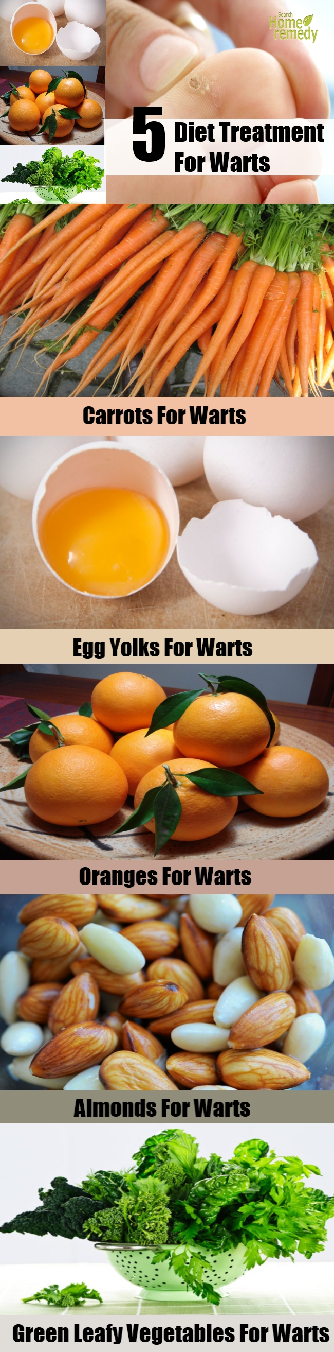5 Effective Diet Treatment For Warts