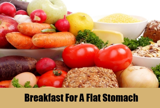 Breakfast For A Flat Stomach