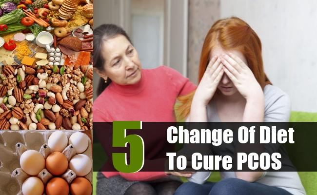 Change Of Diet To Cure PCOS
