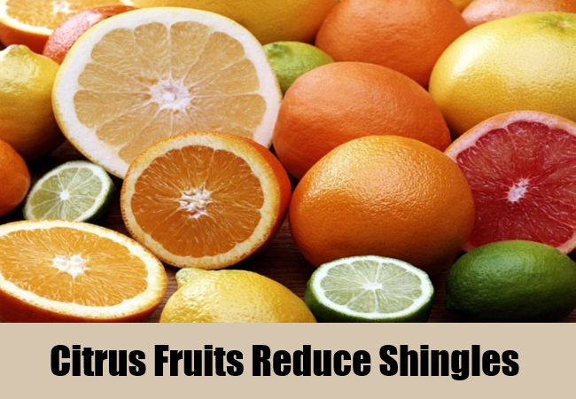 Citrus Fruits Reduce Shingles