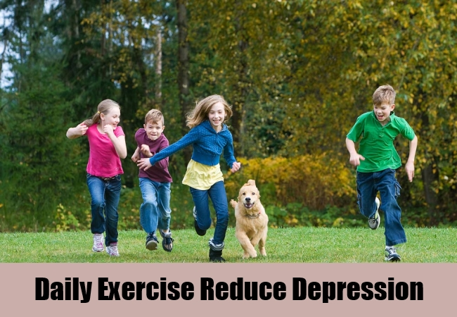 Daily Exercise Reduce Depression