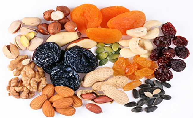 Dry Fruits And Sea Vegetables