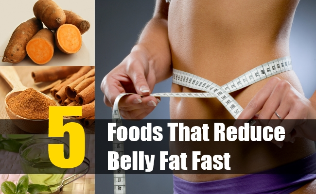 Foods That Reduce Belly Fat Fast