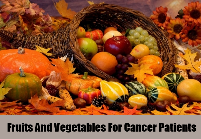 Fruits And Vegetables For Cancer Patients