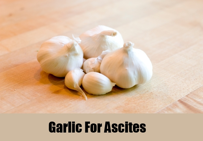 Garlic For Ascites