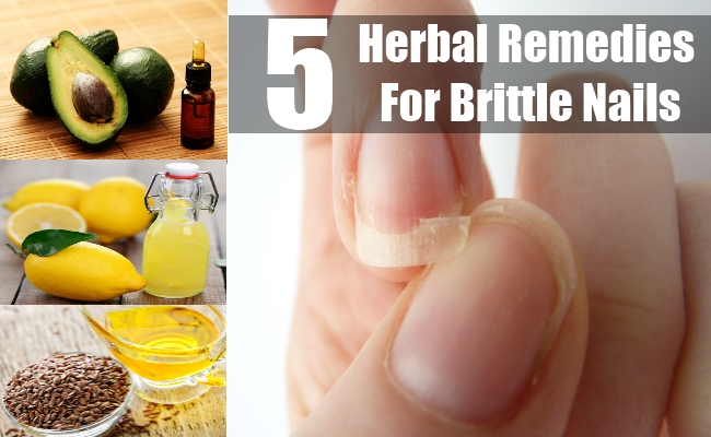 Herbal Remedies For Brittle Nails