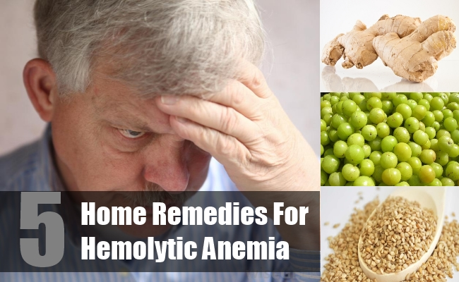 Home Remedies For Hemolytic Anemia