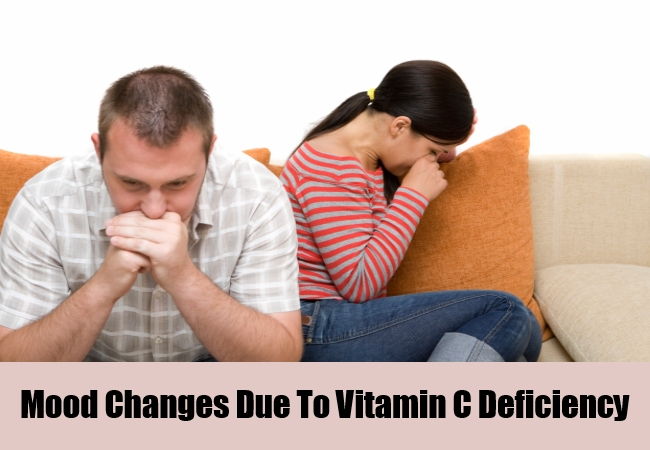 Mood Changes Due To Vitamin C Deficiency