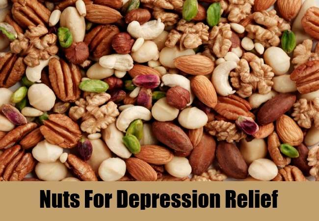 Nuts For Depression Relief