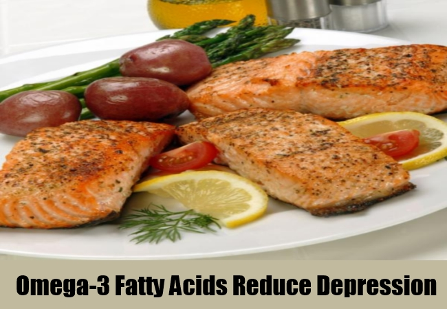 Omega-3 Fatty Acids Reduce Depression