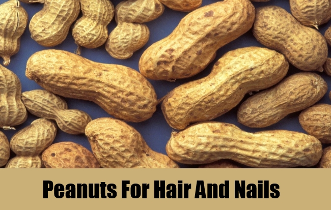 Peanuts For Hair And Nails