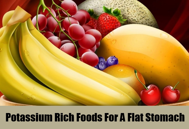 Potassium Rich Foods For A Flat Stomach