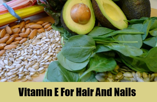 Vitamin E For Hair And Nails