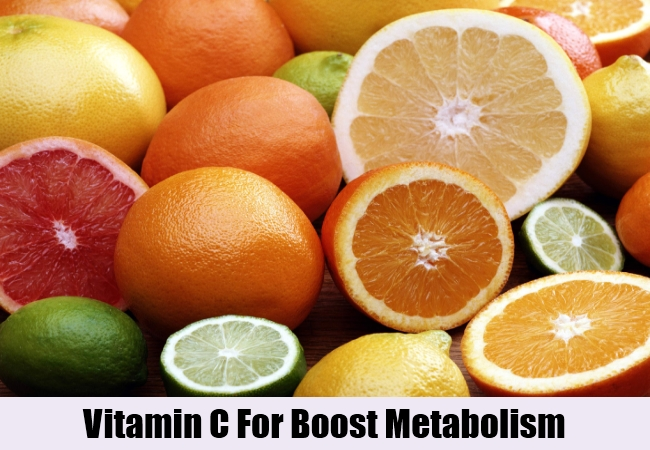 Vitamin C For Boost Metabolism