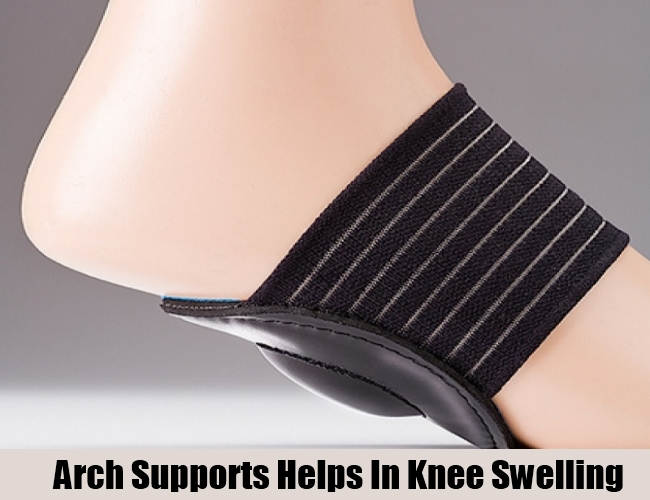 Arch Supports Helps In Knee Swelling