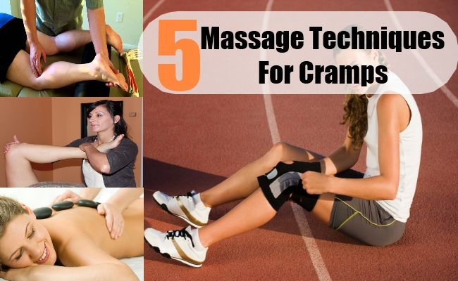 Massage Techniques For Cramps
