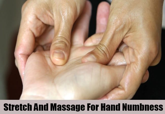 Stretch And Massage For Hand Numbness
