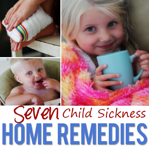 Home Remedies For Child Sickness