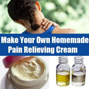 Homemade Pain Relieving Cream