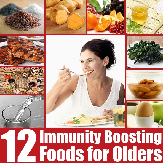 Immunity Boosting Foods for Older Adults