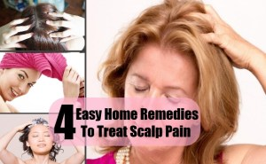 4 Easy Home Remedies To Treat Scalp Pain