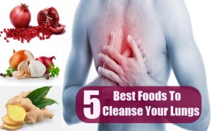 5 Best Foods To Cleanse Your Lungs