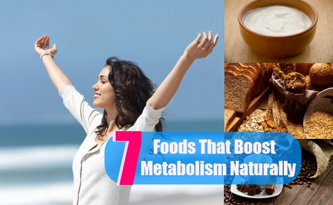 7 Foods That Boost Metabolism Naturally
