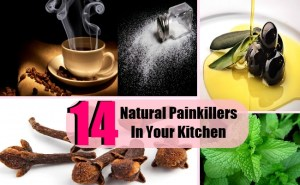 Top 14 Natural Painkillers In Your Kitchen