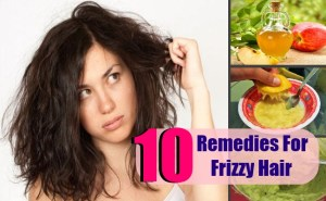 10 Top Home Remedies For Frizzy Hair