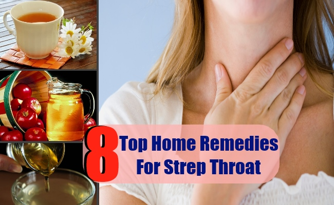 8 Top Home Remedies For Strep Throat