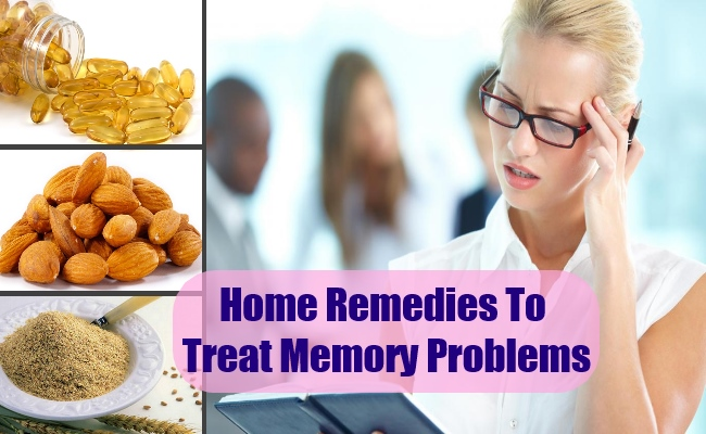 Home Remedies To Treat Memory Problems