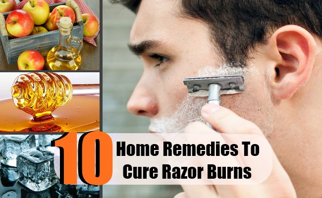 10 Home Remedies To Cure Razor Burns