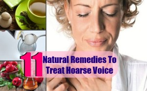 11 Natural Remedies To Treat Hoarse Voice