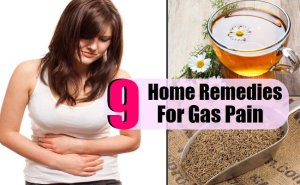 9 Home Remedies For Gas Pain