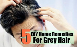 5 DIY Home Remedies For Grey Hair