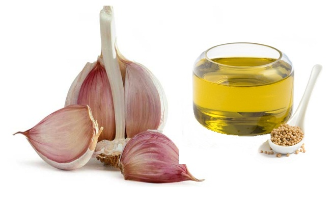 Soya Oil With Garlic