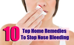 Top 10 Home Remedies To Stop Nose Bleeding