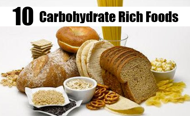 Complex Carbohydrate Rich Foods List
