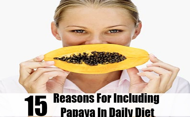 Reasons For Including Papaya In Daily Diet