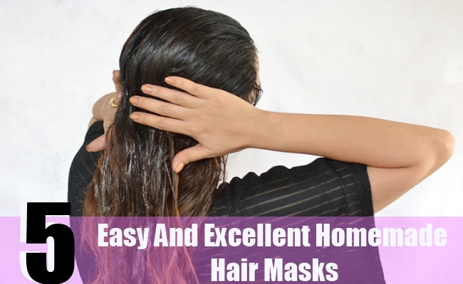 5 Easy And Excellent Homemade Hair Masks