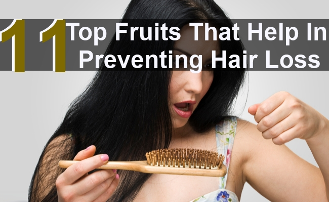 Top 11 Fruits That Help In Preventing Hair Loss