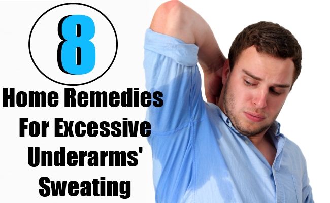 8 Home Remedies For Excessive Underarms' Sweating