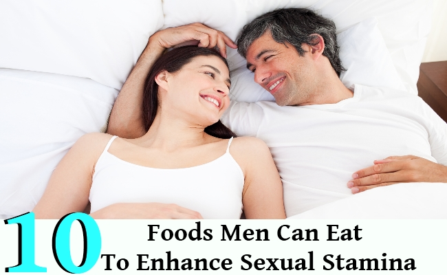 Enhance Sexual Stamina