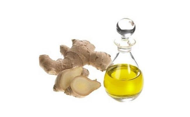 Ginger And Sunflower Oil