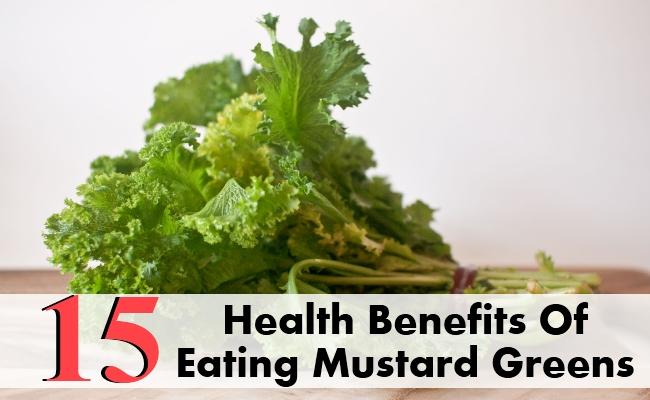 Health Benefits Of Eating Mustard Greens