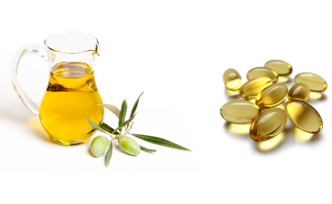vitamin e and olive oil