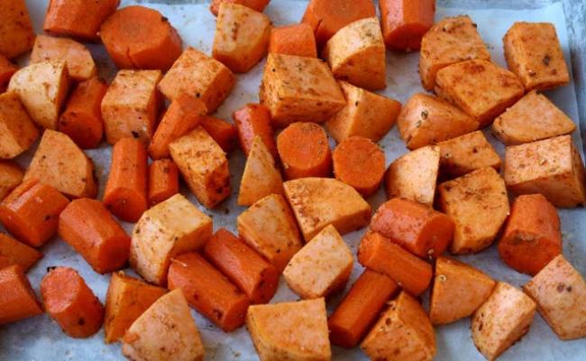 Sweet Potato, Pumpkin And Carrot