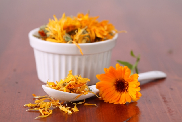 Soak in Marigold Flower Solution