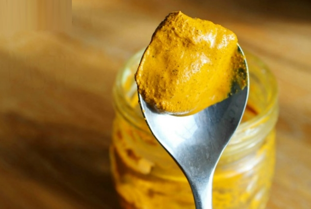 Turmeric And Olive Oil: